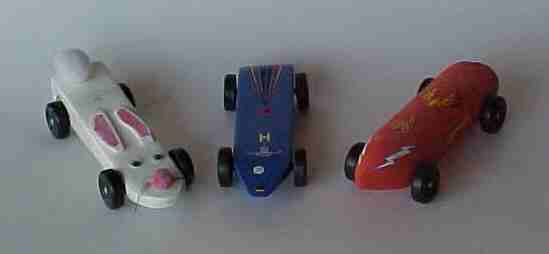 Exciting Scout Crafts - Pinewood Derby