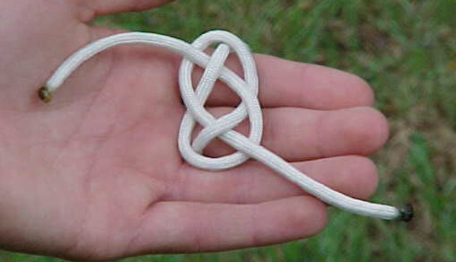 Friendship Knot step 6
